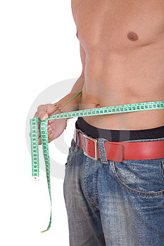 Closeup Of Fit Boy In Blue Jeans Stock Image - Image: 3832331