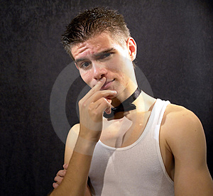 Tough Guy Stock Photo - Image: 3833190
