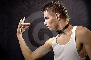 Tough Guy Royalty Free Stock Images - Image: 3833239