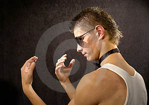 Tough Guy Stock Images - Image: 3833254