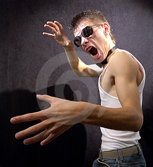 Tough Guy Royalty Free Stock Image - Image: 3833266