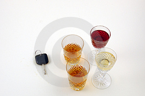 Drink And Drive. Stock Photo - Image: 3833430