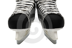 New and modern skates Royalty Free Stock Images