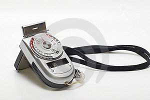 Vintage Light Meter Stock Photography - Image: 3836012