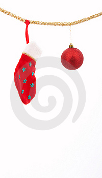 Stocking Stock Photo - Image: 3838070