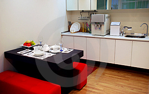 House kitchen Stock Photo