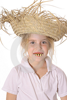 Criança Parva Com Dentes Podres Imagem de Stock - Imagem: 3842111