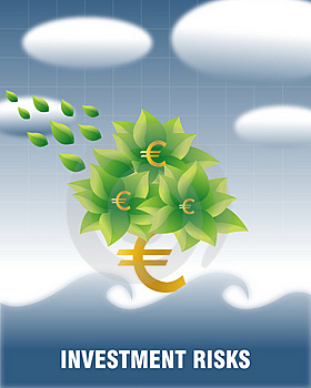 Investment Risks (Euro) Royalty Free Stock Photo - Image: 3848175
