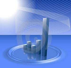 Modern Chart Stock Photo - Image: 3850180
