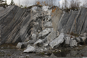 Marble Quarry 7 Stock Image - Image: 3851241