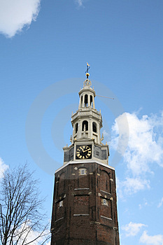 Church In Amsterdam, Netherlands Royalty Free Stock Photo - Image: 3852885