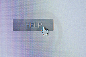 Help Button Royalty Free Stock Photography - Image: 3854487