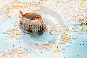 A Colosseum Miniature Royalty Free Stock Photo - Image: 38563245