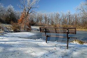 Frozen Park Royalty Free Stock Photo - Image: 3860715