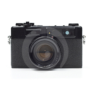 Retro Rangefinder Camera Stock Photo - Image: 3866790