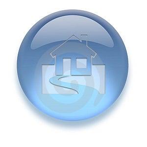 Aqua Icon Stock Images - Image: 3882374