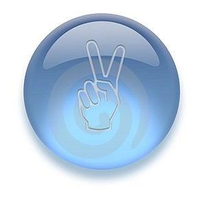 Aqua Icon Stock Foto - Afbeelding: 3883080
