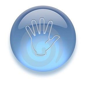 Aqua Icon Imagen de archivo libre de regalías - Imagen: 3883196