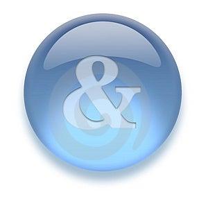 Aqua Icon Stock Photography - Image: 3883322