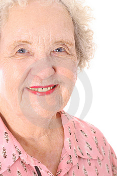 Great grandmother headshot Free Stock Photo