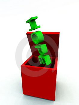 The Box Of Hope  Stock Photo - Image: 3887070