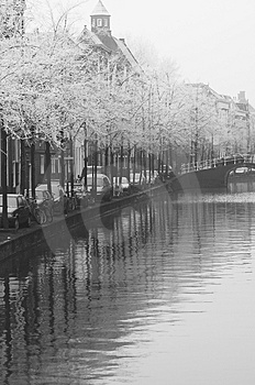 Frozen Canal Royalty Free Stock Photo - Image: 3888525