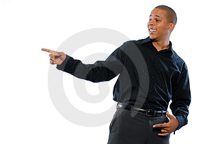 Young African American Male Free Stock Image