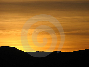 A Perfect Golden Ending Royalty Free Stock Photo - Image: 3898295