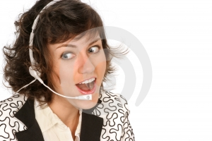Astonished Colleague Stock Image - Image: 396601