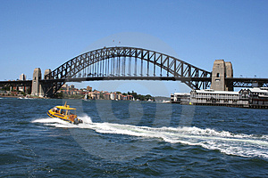 Sydney Harbour Bridge Free Stock Photography