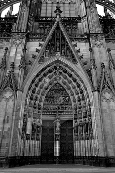 Cologne Cathedral Royalty Free Stock Photos - Image: 3907688