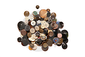 Heap Of Buttons Stock Photos - Image: 3907793