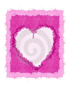 Grunge Valentine's Day Heart Paper Texture Royalty Free Stock Photo - Image: 3909645