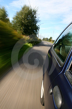 Car window view Stock Photos