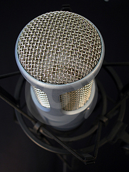 Professional Microphone-Close Royalty Free Stock Photos - Image: 3916468