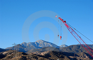 Cranes Stock Photos - Image: 3924703
