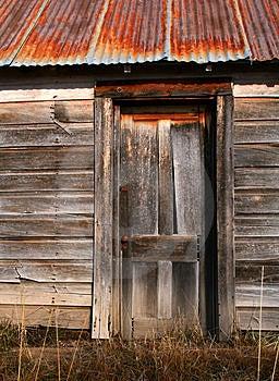 Old Barn Door Stock Photos - Image: 3932673