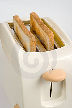 Toasts In Toaster Royalty Free Stock Photos - Image: 3936648