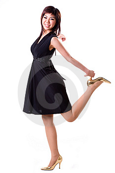 Carefree Girl Stock Photos - Image: 3948753