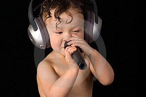 Sing Baby. Stock Photography - Image: 3950752