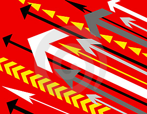 Background With Lots Of Arrows Stock Photography - Image: 3957082