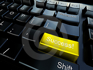 Keyboard of success