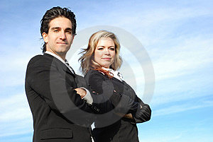 Business team Free Stock Photo