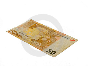Fifty Euro Royalty Free Stock Photography - Image: 3962997