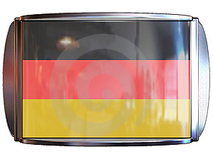 Flag To Germany Royalty Free Stock Photography - Image: 3967827