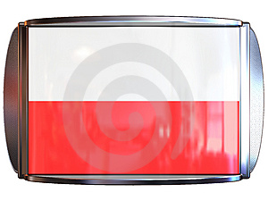 Flag To Poland Royalty Free Stock Image - Image: 3967906