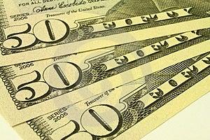 Fifty Dollars Stock Photo - Image: 3968270