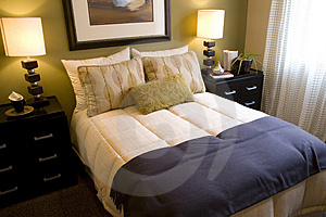 Bedroom 2681 Stock Photos