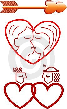 Valentines Element Stock Photography - Image: 3990362