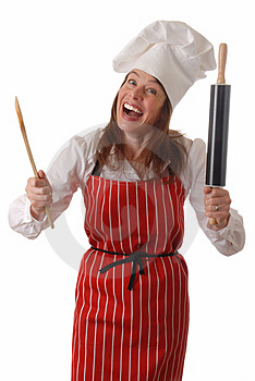 Happy Chef Royalty Free Stock Photography